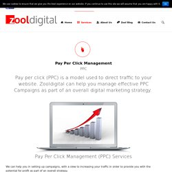 Pay Per Click (PPC) Management Services