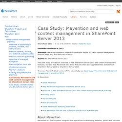 microsoft case studies sharepoint 2010
