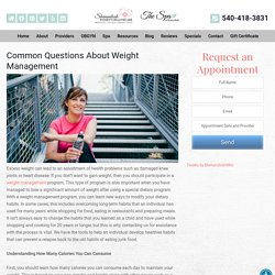 Common Questions About Weight Management - Shenandoah Women's Healthcare & Spa