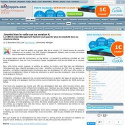 Joomla l ve le voile sur sa version 4, le CMS (Content Management System) veut apporter plus de simplicit dans sa structure interne