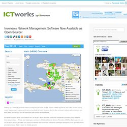 Inveneo's Network Management Software Now Available as Open Source!
