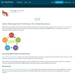 Sales Management Software for Small Business: foduu12