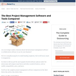 Sonstiges - 43 Project management software alternatives compared