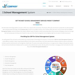 ERP Online School Management System