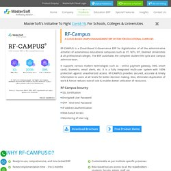 RF Campus Management Software – ERP Higher Education