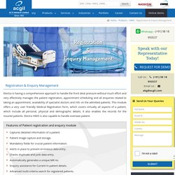 Patient Management System Software, Enquiry Hospital Software India