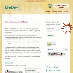 Time Management Software – The best tools reviewed