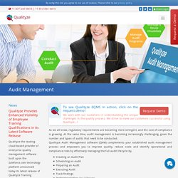 Audit Management Software Solutions