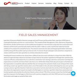 Field Sales Management Software Solution - Lgorithm Solutions