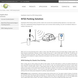 RFID Parking - RFID Parking Management Solution - Nephsystem