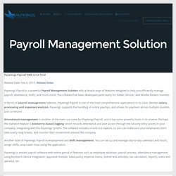 Payroll Management Solution - Paywings 4.0
