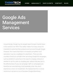 Google Ads Management Company Solutions Calgary, Edmonton