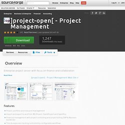 ]project-open[ - Project Management | Free Business & Enterprise software downloads at SourceForge