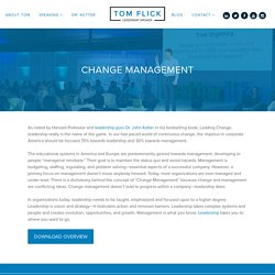 Change Management Speaker and Specialist