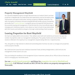 Mayfield Property Management Specialists