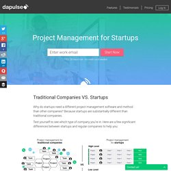 Project Management for Startups