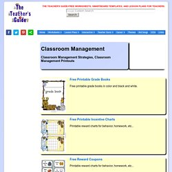Classroom Management Strategies, Tips, and Resources