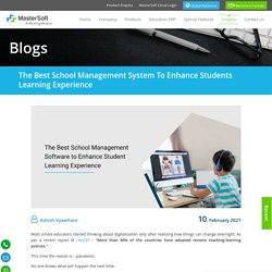 The Best School Management System to Enhance Students Learning Experience