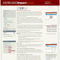 STEP™ Tool | UChicago Impact