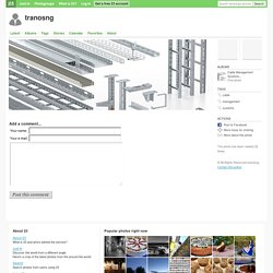 cable management systems - tranosng