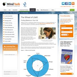 The Wheel of Life - Finding Balance in Your Life - Time Management Techniques from MindTools