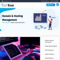 Domain & Hosting Management company, Noida