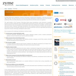 Zyme in Consumer Technology Sector