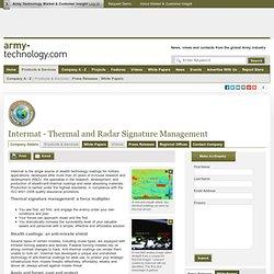 Intermat - Thermal and Radar Signature Management