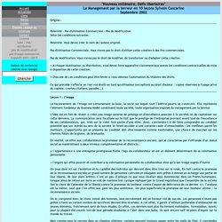 Le Management par la terreur en 10 leçons Sylvain Cascarino