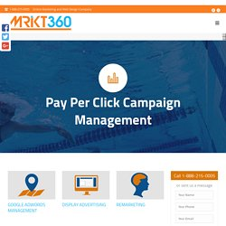 PPC Management Services in Toronto offered by Mrkt360 Inc.
