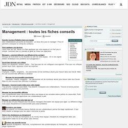 Management : toutes les fiches conseils