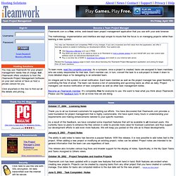 Online Web Based Project Management and Tracking - iTeamwork.com