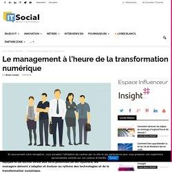 Le management à l'heure de la transformation numérique