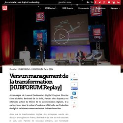 Vers un management de la transformation [HUBFORUM Replay]