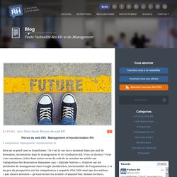 Revue du web #50 : Management et transformation RH
