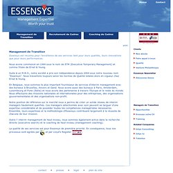 Management de Transition (Essensys)