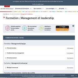 Formation au management d'équipe, transversal et Leadership