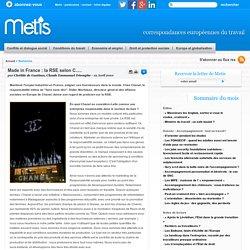 Made in France : la RSE selon C..... - Management et emploi, management et travail, management en europe, gouvernance et travail travail emploi europe