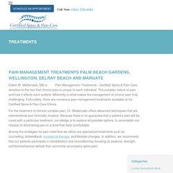 Pain Management Treatments