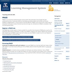 University of melbourne e learning strategy