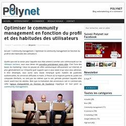 Community management - Profil et habitudes des utilisateurs