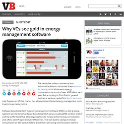 Why VCs see gold in energy management software