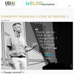 Manager à l'ère du digital