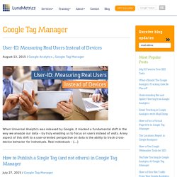 Google Tag Manager Archives