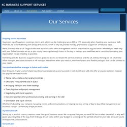 Proficient Employees of KC Business Support Services