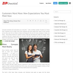 Remote Task Manager Customers Want More - Zip Checklist