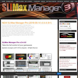 NEW SLIMax Manager Pro (2016-06-14 v3.4.4.9r1) » EKSIMRacing Website
