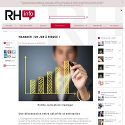 Manager : un job à risque