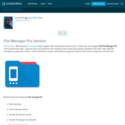 File Manager Pro Version: asmariafa3