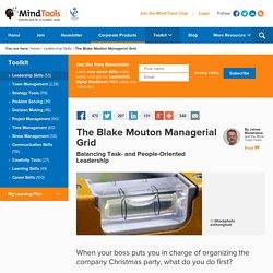 3.2 Blake Mouton Managerial Grid